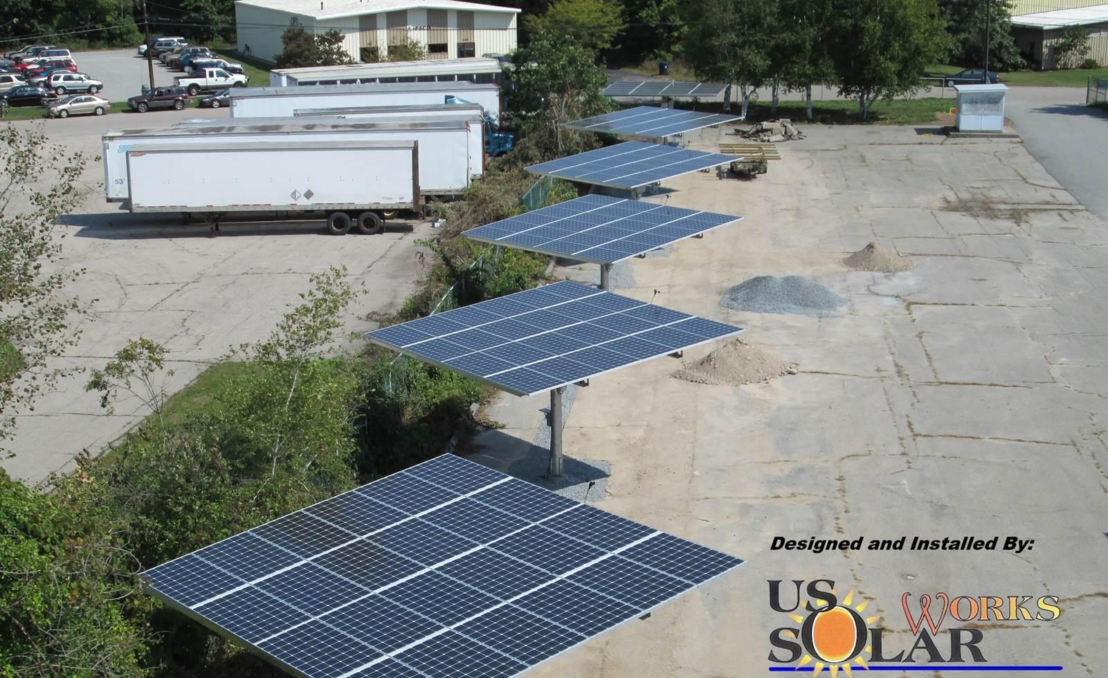 Solar trackers in Attleboro, MA