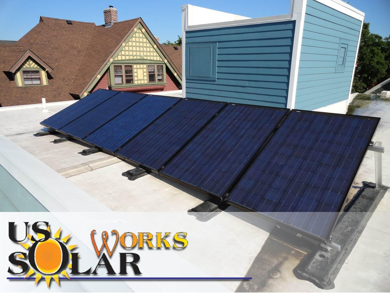 Commercial solar array in Providence, RI