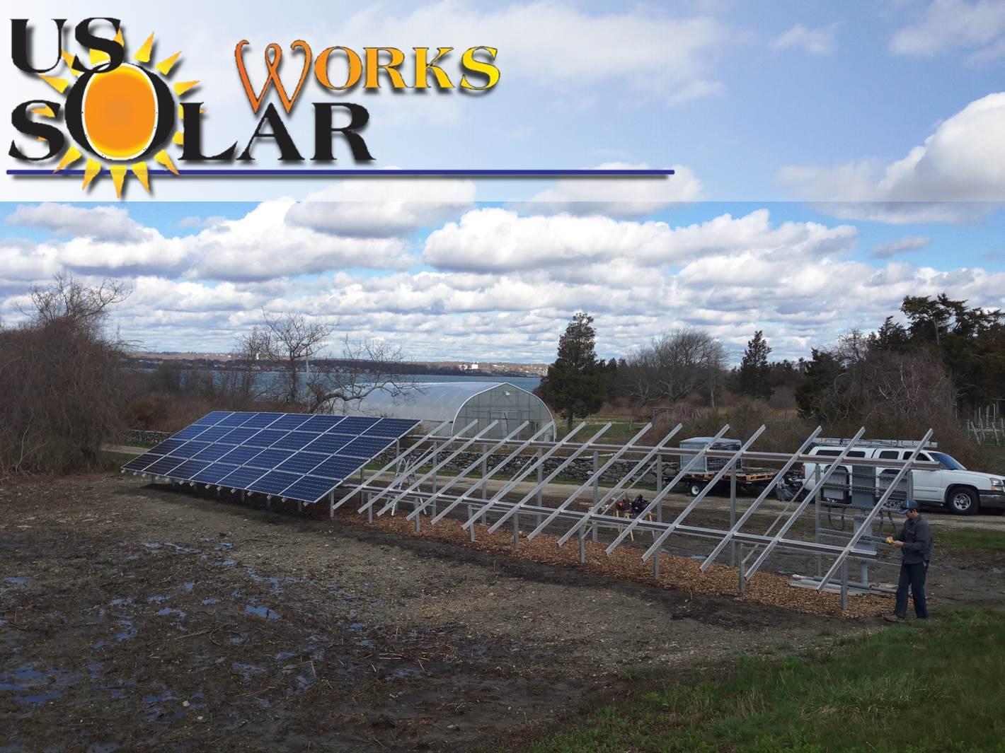 Ground mount solar in Jamestown, RI
