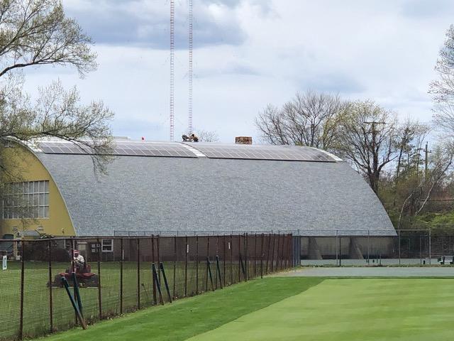 Custom commercial solar project in Rumford, RI