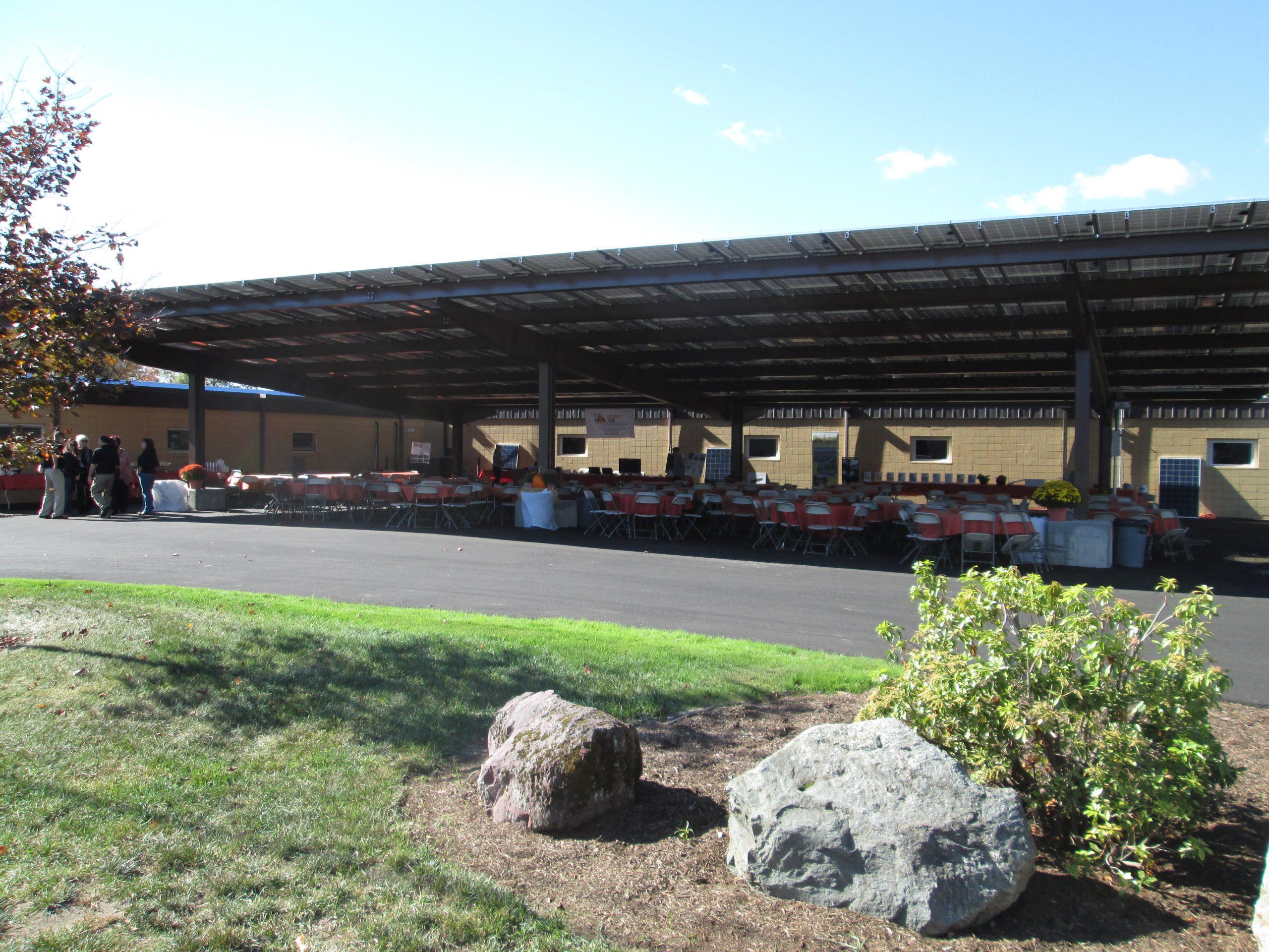 Solar Carport in Attleboro, MA